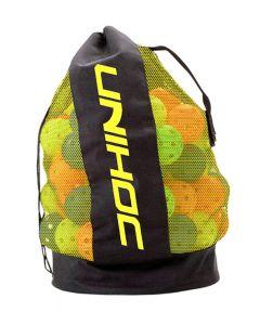 Unihoc Balltasche schwarz/neon gelb