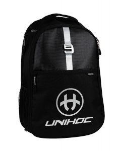 Unihoc Rucksack RE/PLAY schwarz - unihockeycenter.ch
