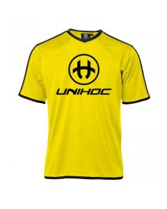Unihoc Dominate Shirt neongelb - unihockeycenter.ch