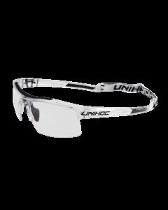 Unihoc Brille ENERGY Junior-transparent/schwarz - unihockeycenter.ch