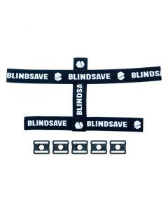 Blindsave Goalie Maske Straps & Buckles - unihockeycenter.ch
