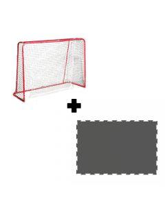 Unihockey Tor & Shooting Puzzle