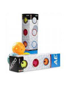 Salming Unihockeyball Aero 4-Pack mixed colors