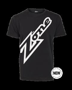 Zone T-shirt Mega schwarz