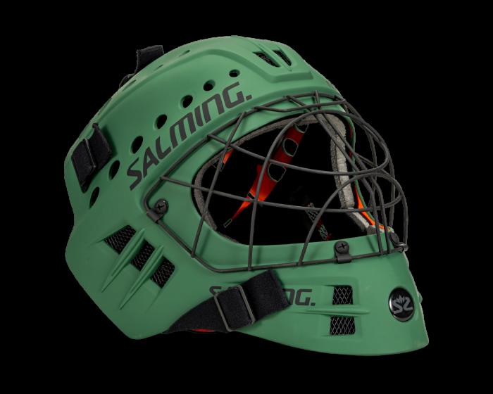 Salming Goaliemaske Phoenix Camping Green Goalie Maske