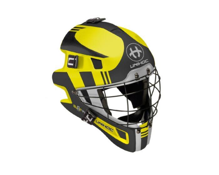 Maske Unihoc Summit 44 neon gelb