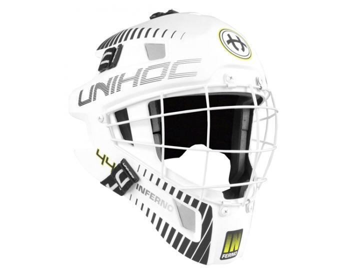 Unihoc Inferno 44 Goaliemaske weiss