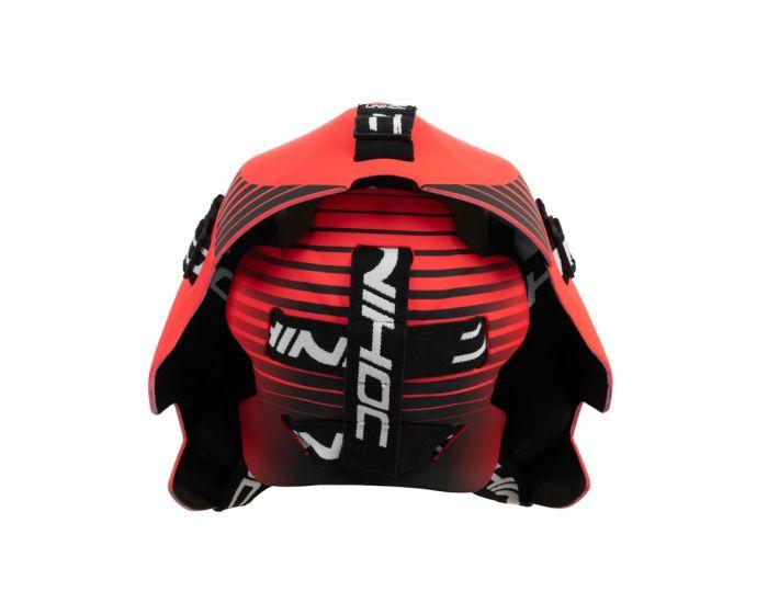 Unihoc Inferno 44 Goaliemaske rot/schwarz
