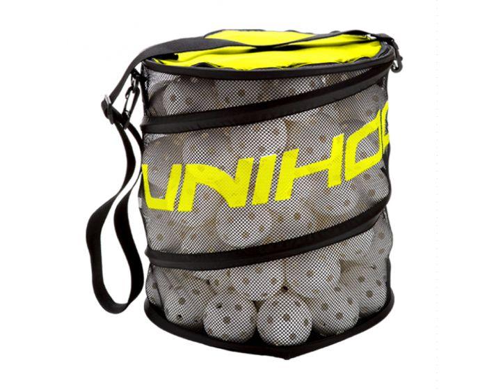 Unihoc Balltasche Flex schwarz/neon gelb