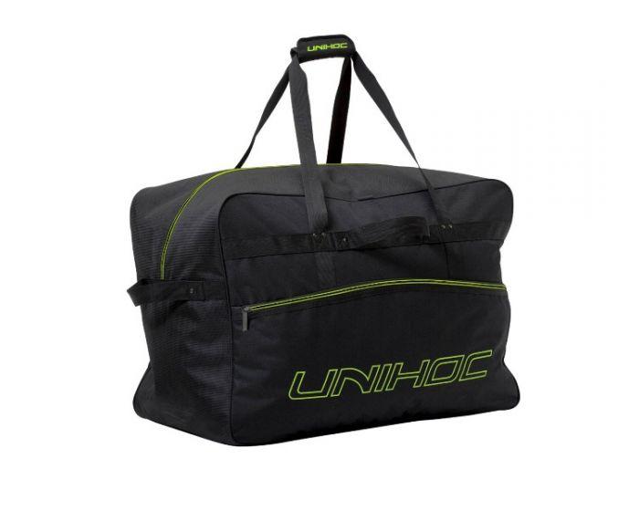 Unihoc  Teambag Lime Line  X-large black  - unihockeycenter.ch