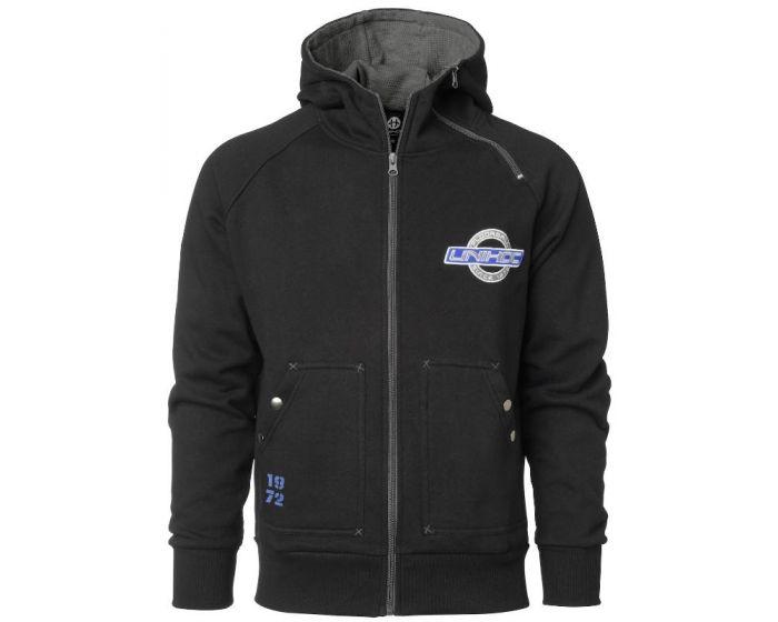 Unihoc Hood Zip Torino schwarz