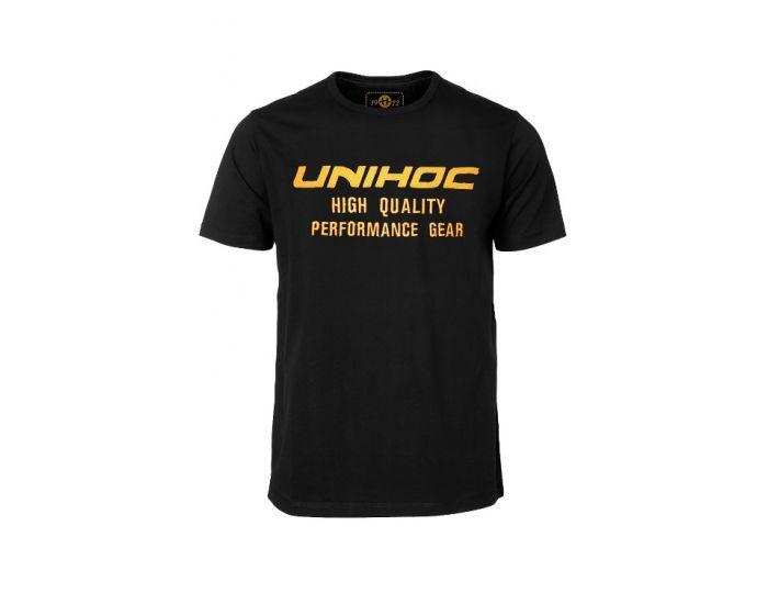 Unihoc T-shirt Fire black   - unihockeycenter.ch
