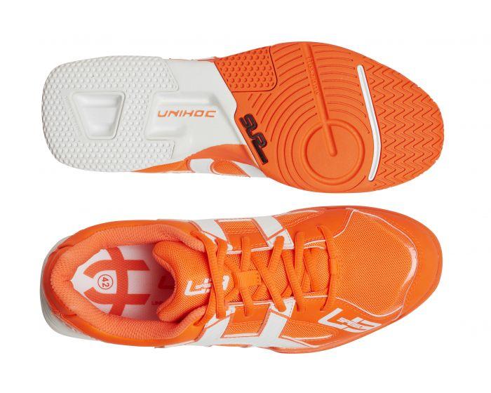 Unihoc U3 Speed NXT Men orange/weiss Sohle & Oben