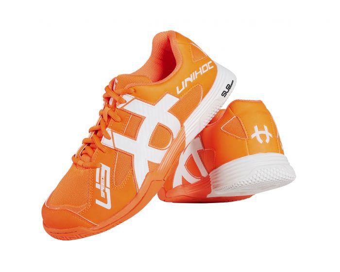 Unihoc U3 Speed NXT Men orange/weiss Seitlich