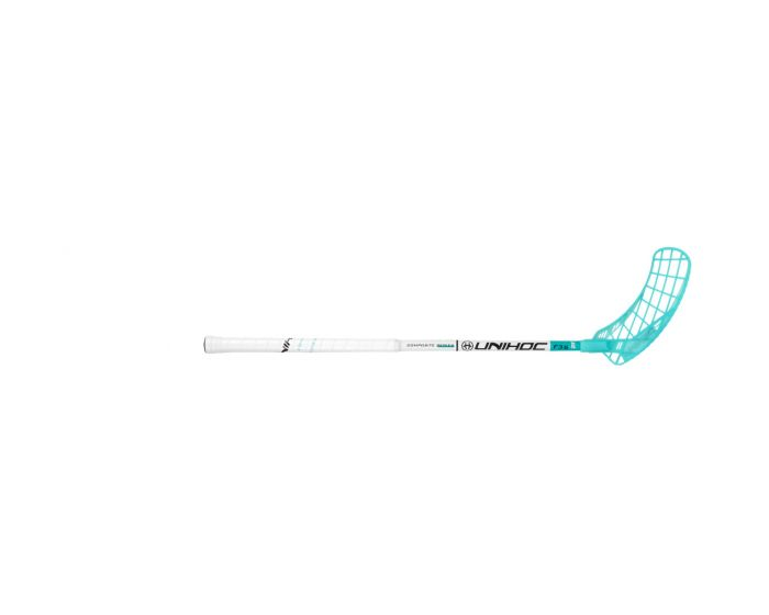 UNIHOC EPIC YOUNGSTER 36 weiss/türkis 21/22 - unihockeycenter.ch