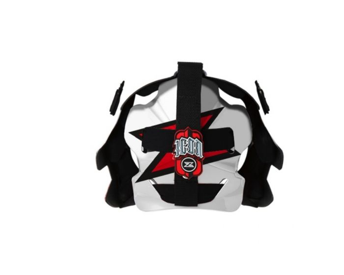 Icon Maske 2.1 weiss/rot Rückseite