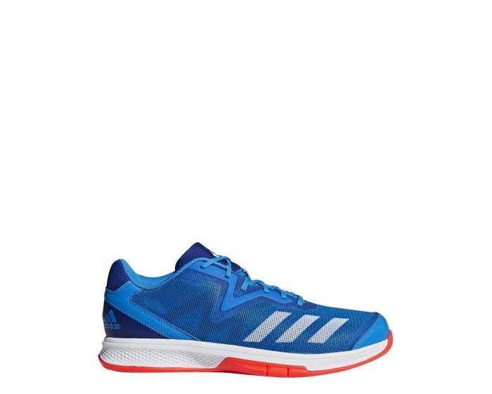 Adidas Counterblast Exadic blue/ solar red seitlich
