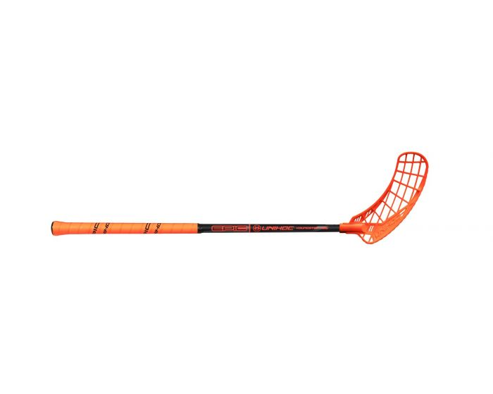 Unihoc EPIC Youngster 36 schwarz/orange