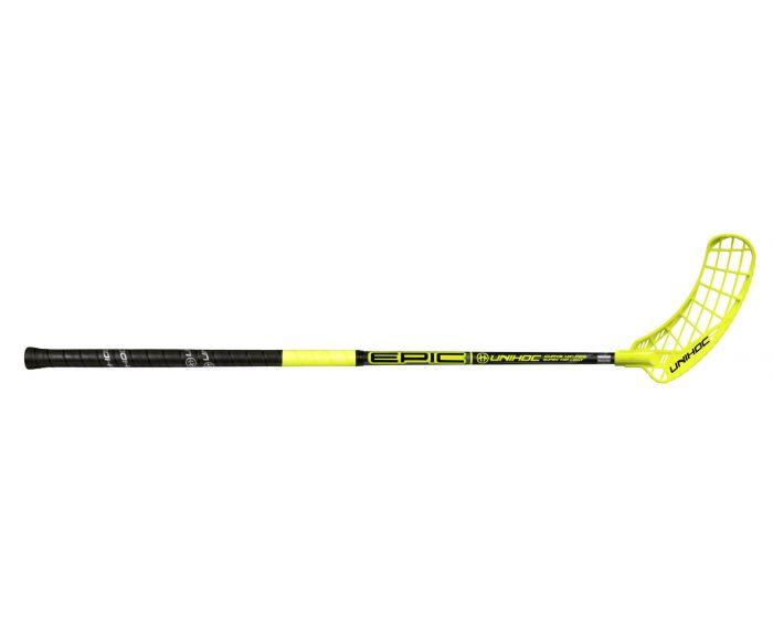 Unihoc EPIC Curve 1.0° STL 29 schwarz/neon gelb