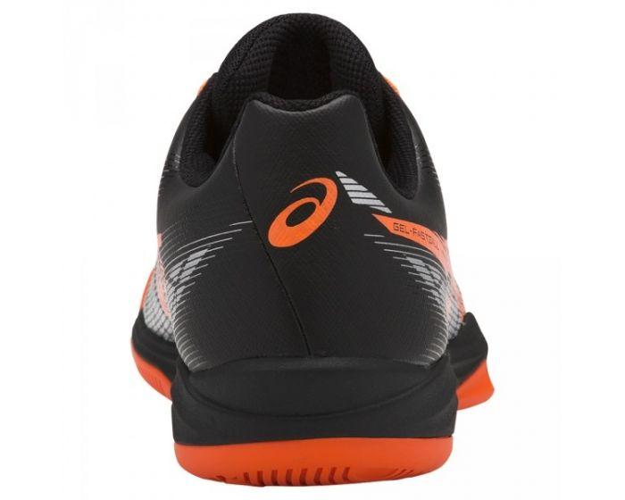 Asics GEL-FASTBALL 3 hinten schwarz/orange