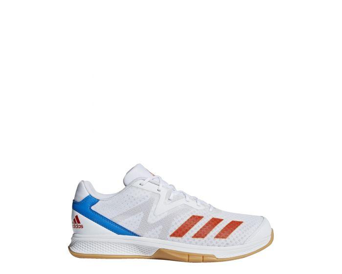 Adidas Counterblast Exadic white / solar red /blue seitlich