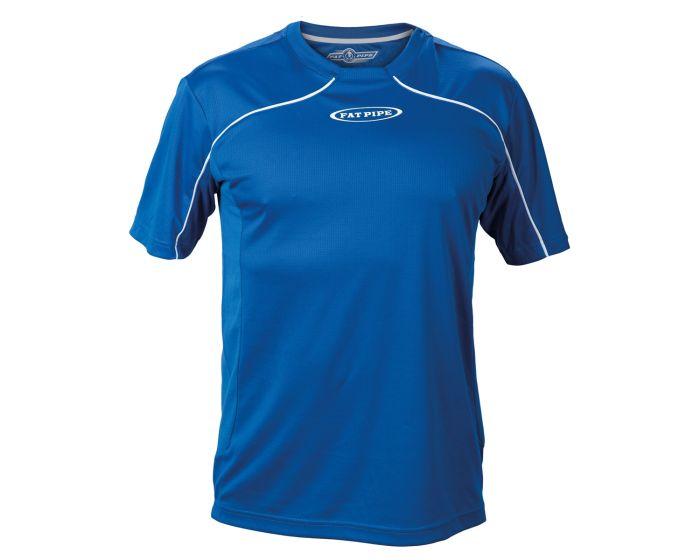 Fat Pipe Player Shirt blau