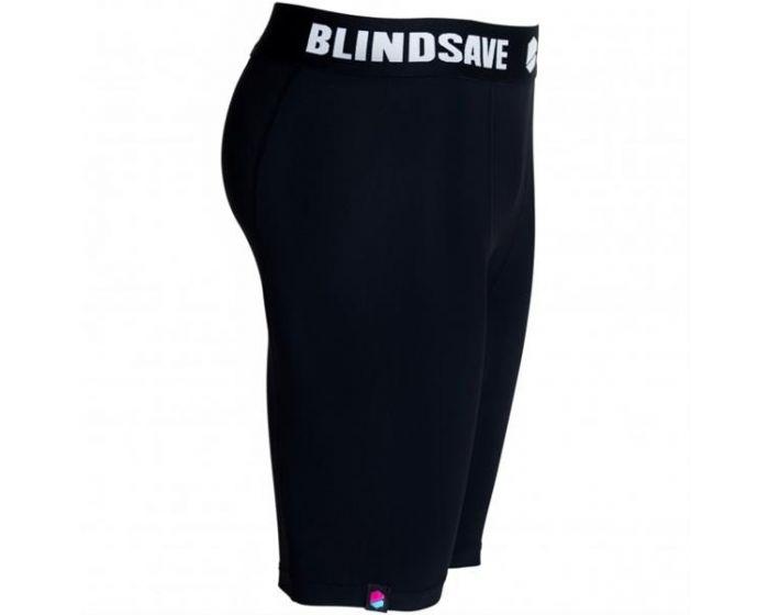 Blindsave Shorts schwarz seitlich