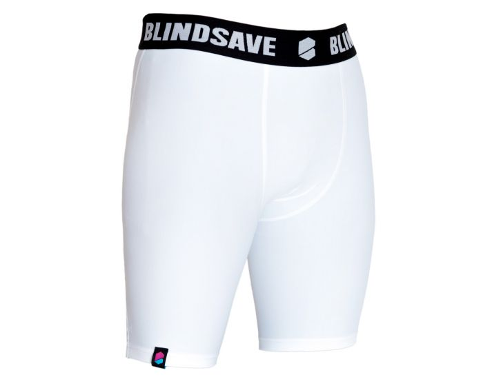 Blindsave Shorts weiss