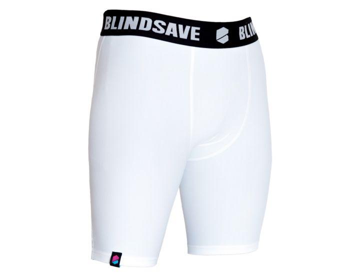 Blindsave Shorts weiss vorne seitlich