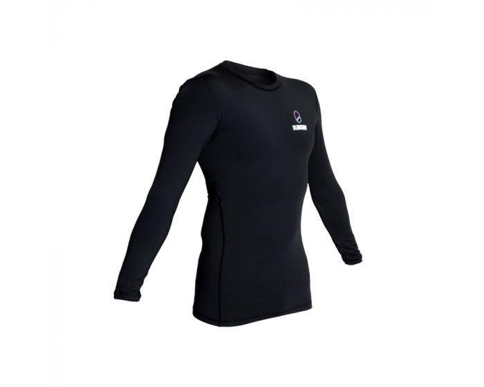 Blindsave Compression Shirt Longsleeve schwarz