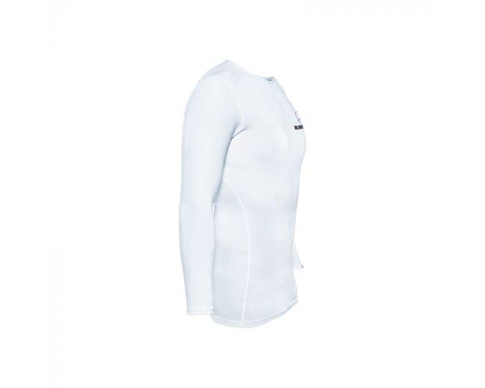 Blindsave Compression Shirt Longsleeve weiss