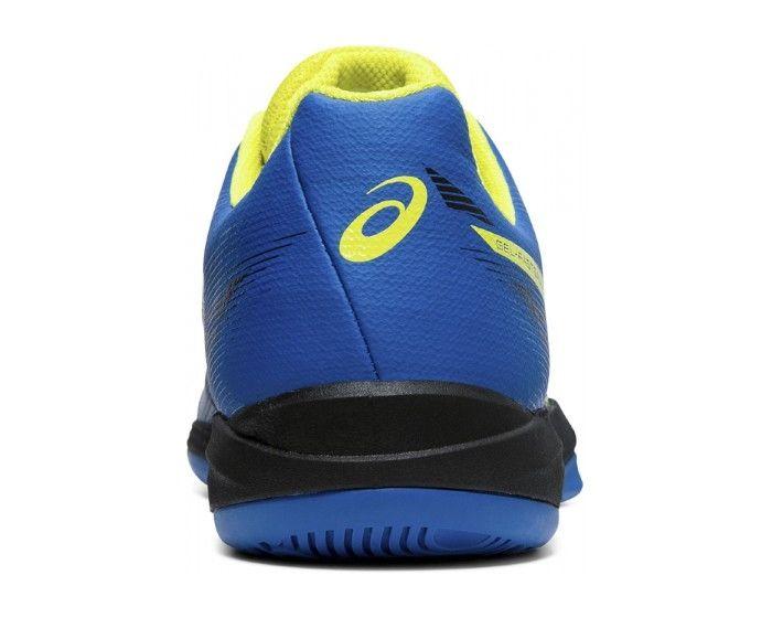 Asics GEL-FASTBALL 3 blau gelb hinten