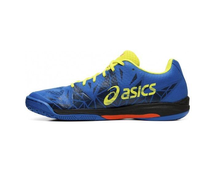 Asics GEL-FASTBALL 3 blau gelb seite 2