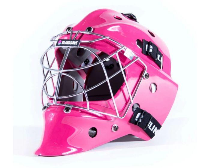 Blindsave pink Goaliemaske