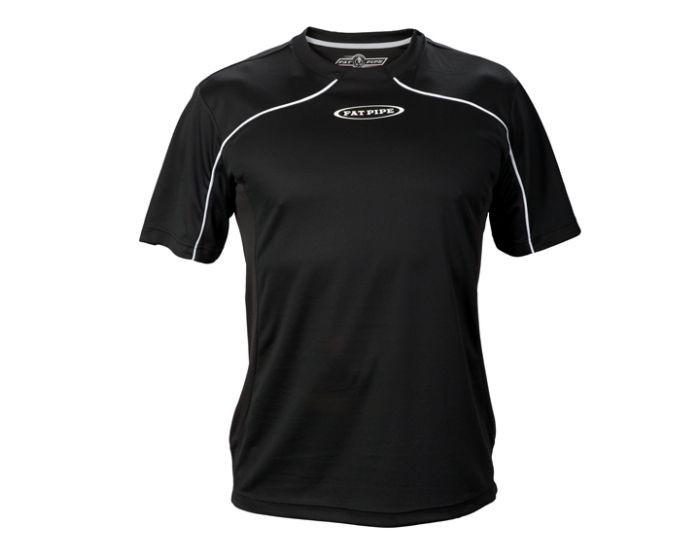 Fat Pipe Player Shirt schwarz