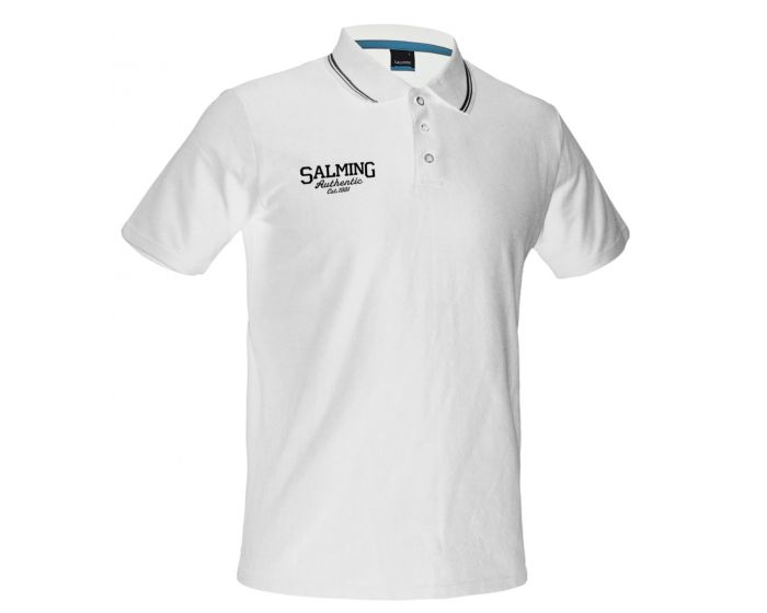 SalmingTeam Polo, black, white - unihockeycenter.ch