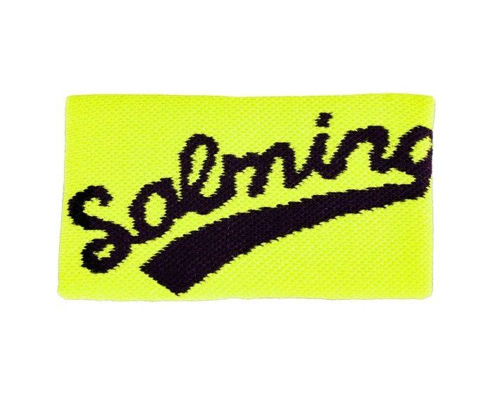 salming schweissband lang gelb schwarz
