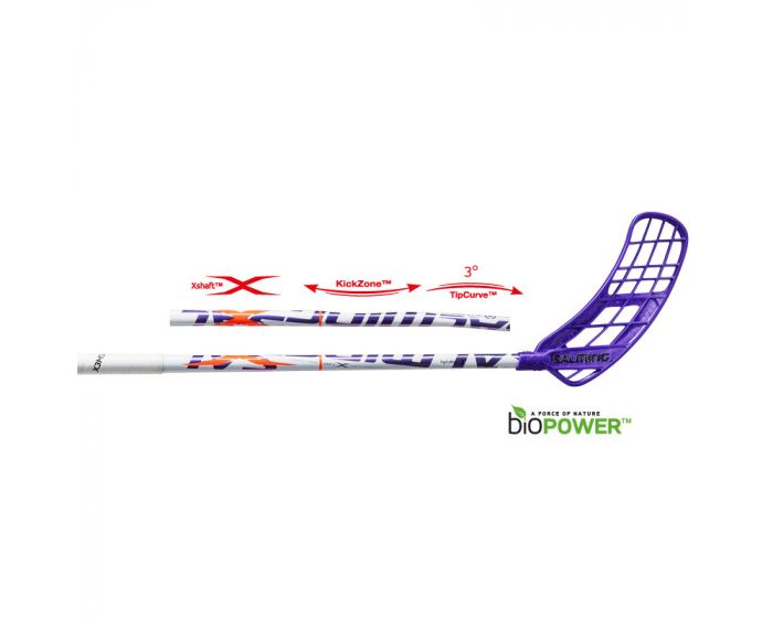 Salming Q3 X-shaft KickZone TipCurve 3dg Technologie