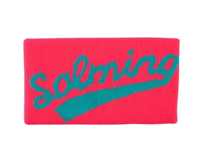 salming schweissband lang pink türkis
