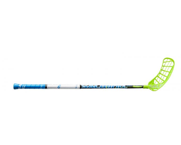 Salming Q2 KickZone TipCurve 3 grad youth  Unihockeystock