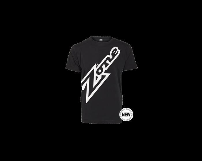 Zone T-shirt Mega schwarz      - unihockeycenter.ch