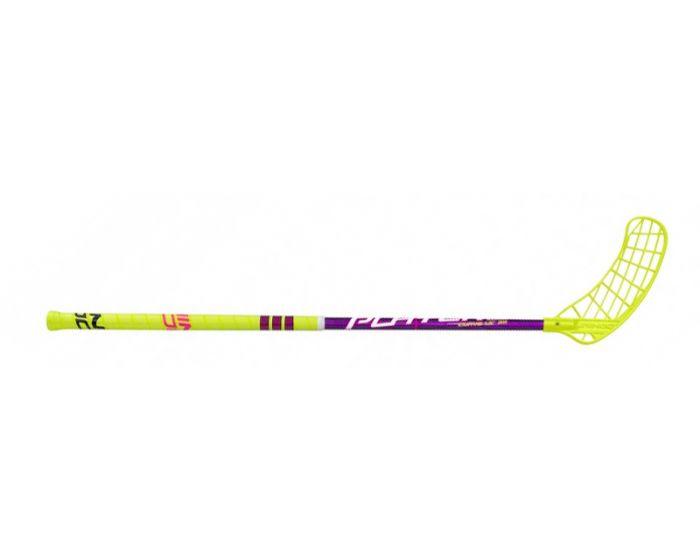 Unihoc Player 3 Curve 1.5° 35 neon gelb/purple TESTSTOCK