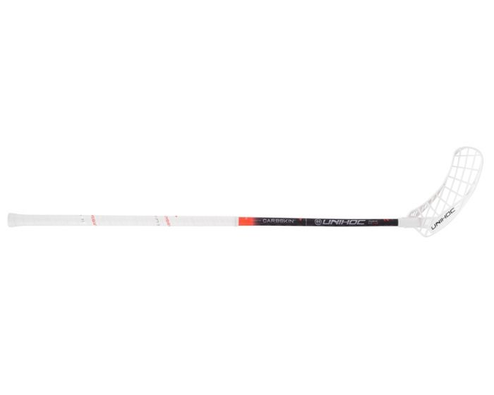 Unihoc EPIC CARBSKIN Curve 2.0° 29 weiss/rot 19/20 TESTSTOCK