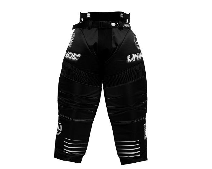 Unihoc INFERNO Goaliehosen schwarz - weiss