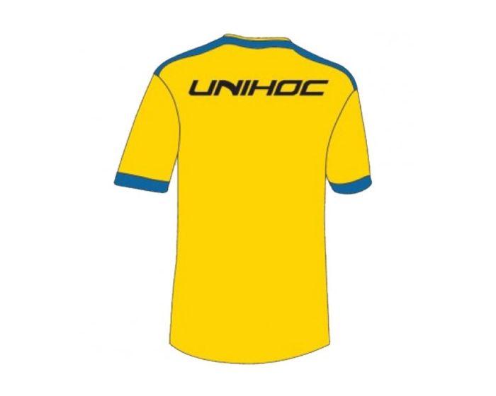 Unihoc Fan Shirt Schweden Unihockey WM 14 hinten