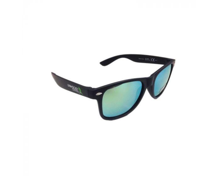 Unihockeycenter.ch Sonnenbrille gold verspiegelt