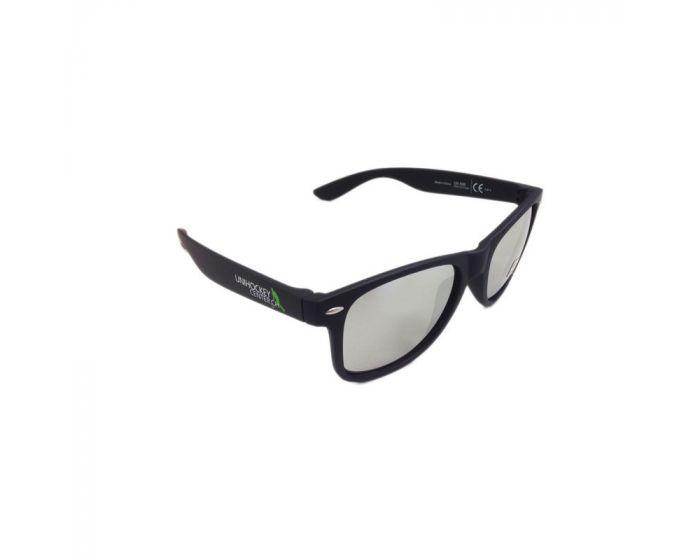 Unihockeycenter.ch Sonnenbrille silber verspiegelt