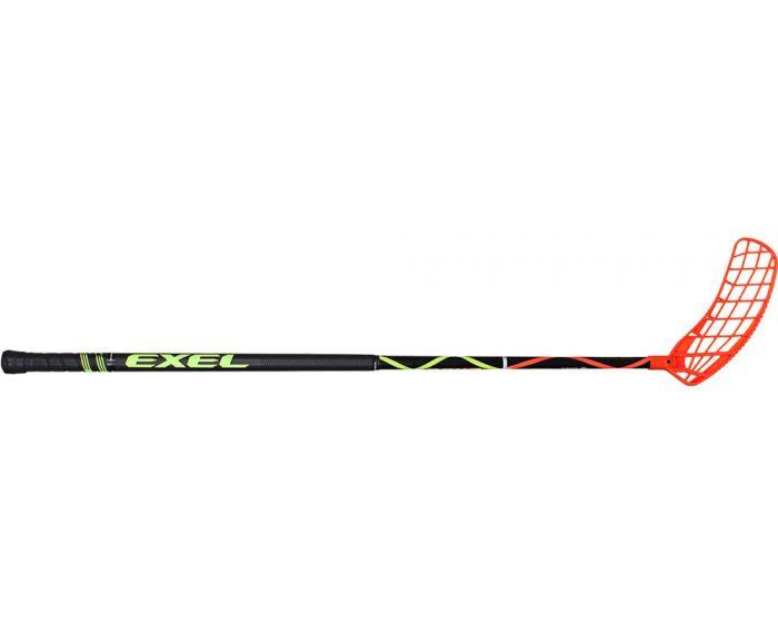 Unihockey Stock mit Exel Air Schaufel Helix Black 2.6 101 Rund