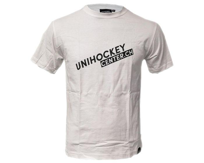 Unihockeycenter.ch T-Shirt weiss