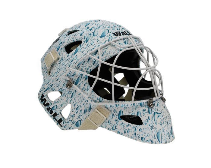 Wall Goaliemaske W3 Pro Active Painted - unihockeycenter.ch